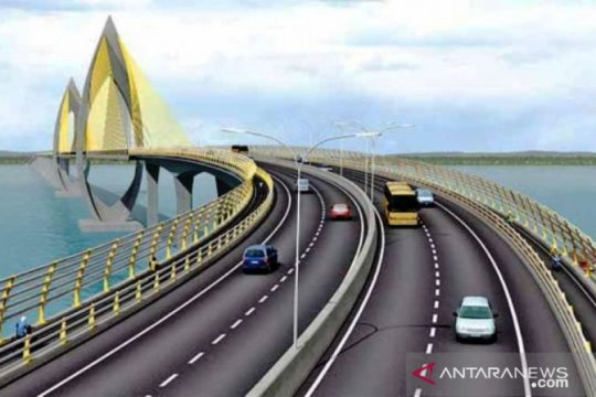 BPJT diminta segera lanjutkan lelang jembatan tol Penajam-Balikpapan