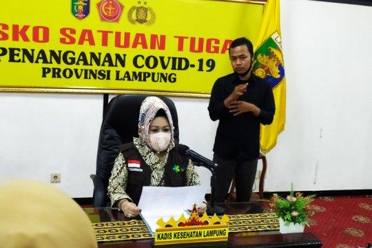 Kasus positif COVID-19 Lampung bertambah 4 dari pelaku perjalanan
