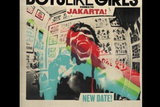 Konser Boys Like Girls di Jakarta ditunda hingga tahun 2021