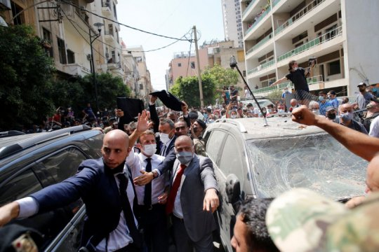 Macron jadi tuan rumah konferensi donor untuk Lebanon pascaledakan