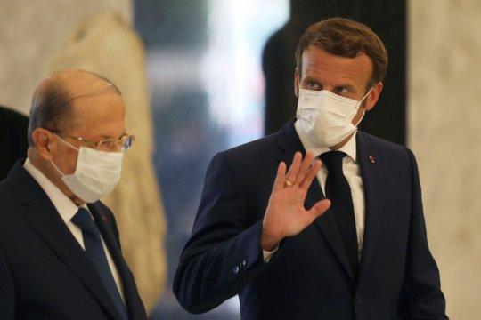 Prancis susun peta reformasi bagi Lebanon