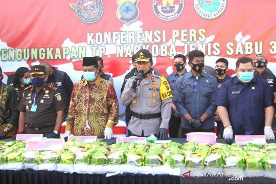 Polisi gagalkan penyelundupan 300 kg sabu di Kalsel