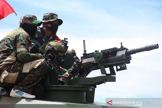 Kodam Iskandar Muda gelar latihan senjata berat kendaraan tempur