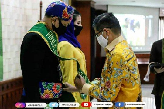 15 finalis Abang None 2020 Jakarta Selatan dikukuhkan saat pandemi