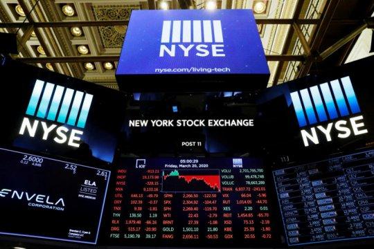Wall Street dibuka merosot, indeks Dow Jones turun 0,17 persen