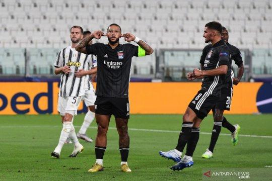 Lyon lolos ke perempat final kendati kalah 1-2 di kandang Juventus