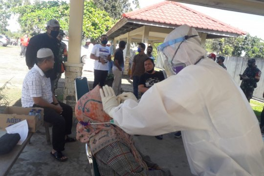 Suami-istri positif COVID-19 jalani perawatan di RSUD Pasaman Barat