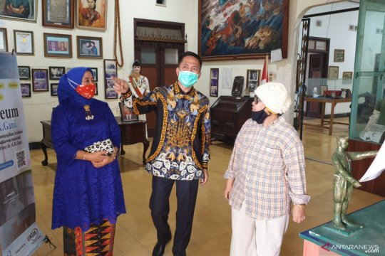 Sekda Palembang prihatin melihat kondisi Museum Pejuang A.K Gani