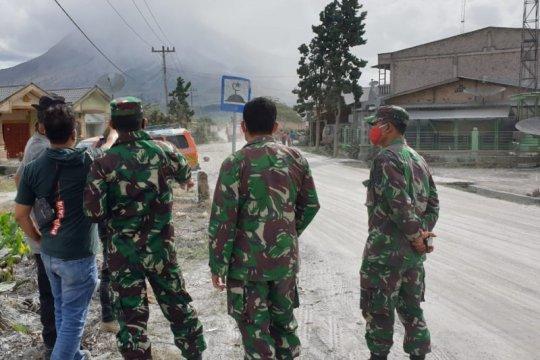 BPBD Karo: Masyarakat jauhi zona merah Gunung Sinabung