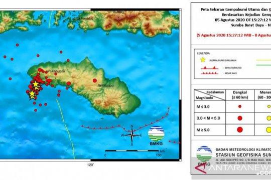 Gempa susulan masih terus terjadi di Sumba Barat Daya