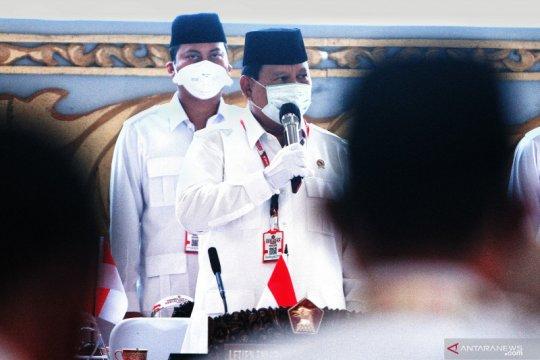 Prabowo Subianto pimpin kembali Partai Gerindra hingga tahun 2025