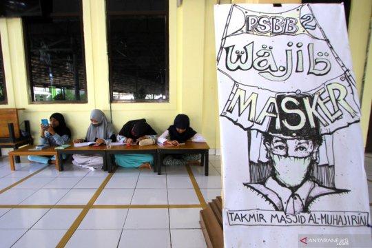 Dari zona hijau, Banjarmasin setuju rancangan sekolah tatap muka