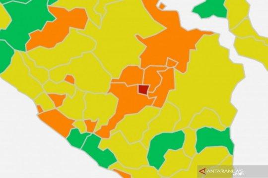 Prabumulih gantikan Palembang jadi zona merah COVID-19 di Sumsel