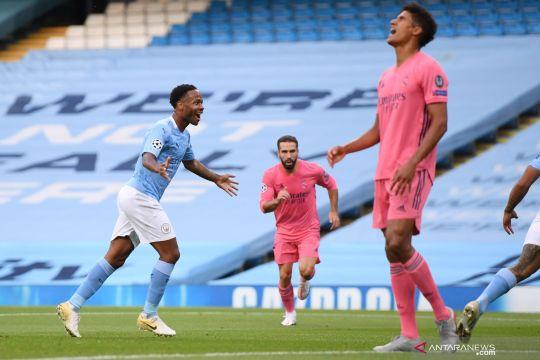 Liga Champions:  babak pertama Manchester City vs Real Madrid 1-1