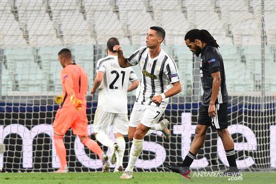 Liga Champions:  Juventus tersingkir meski menang atas Olympique Lyon
