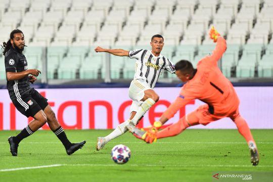 Liga Champions: babak pertama Juventus vs Olympique Lyon 1-1