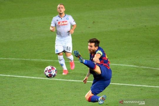 Barcelona amankan tiket perempat final setelah tundukkan Napoli 3-1