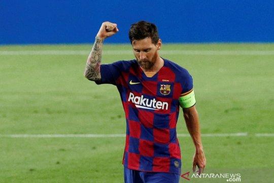 Barcelona dan Lionel Messi torehkan rekor baru usai kalahkan Napoli
