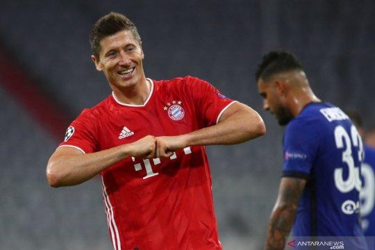 Lewandowski atau Messi, siapa yang terbaik menurut Thomas Muller?