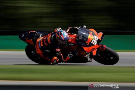 Brad Binder taklukkan Brno untuk raih kemenangan perdana di MotoGP