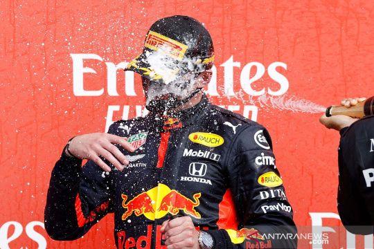 Verstappen kalahkan duet Mercedes pada balapan hari jadi F1 ke-70