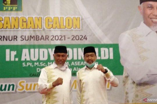 PKS-PPP koalisi usung Mahyeldi-Audy Joinaldy di Pilkada Sumbar