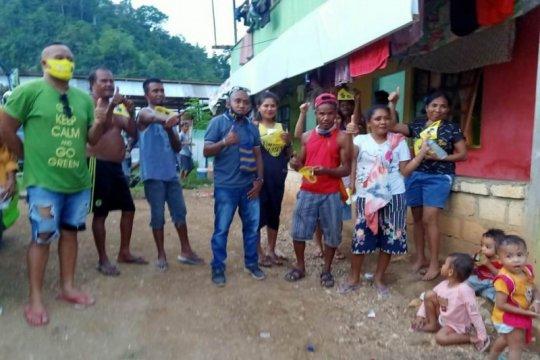 1.000 masker dibagikan kaum muda Papua bagi warga terdampak COVID-19