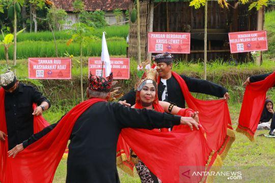 Suku Osing peringati hari internasional masyarakat adat sedunia