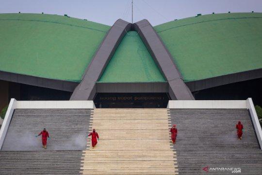 DPR pilih tema ornamen Kalimantan dalam Sidang Tahunan