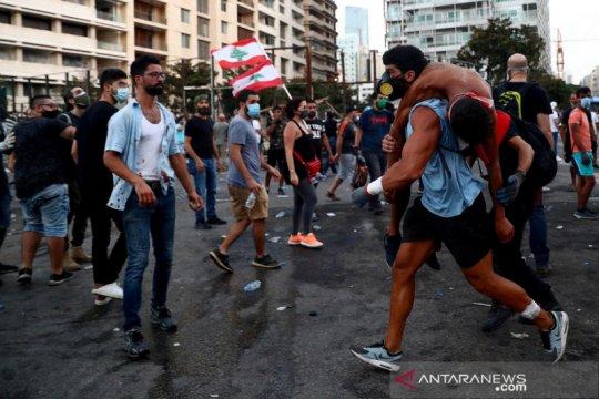 Pascaledakan, pemerintah Lebanon bubar dan PM mengundurkan diri