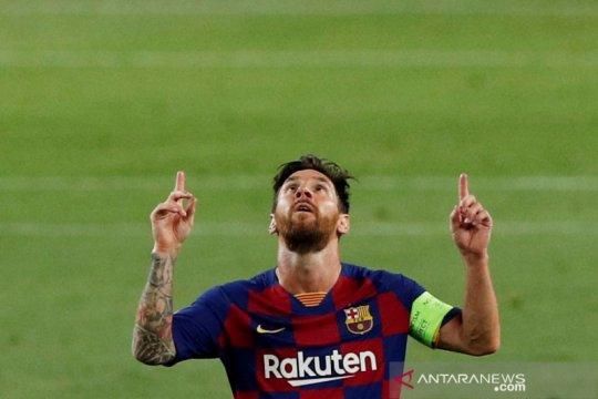 Presiden Argentina minta Messi kembali ke Newell's Old Boys