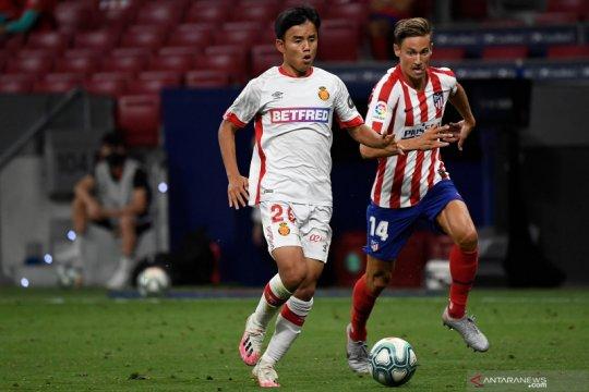 Pemain muda Jepang Kubo dipinjam Villarreal dari Real Madrid