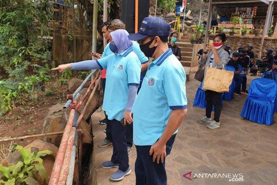 Kemenparekraf gelar Gerakan BISA di Curug Cinulang Jawa Barat