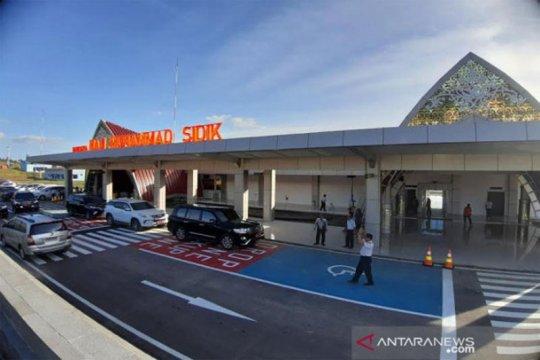 Sebelum diresmikan, Kemenhub uji mendarat di Bandara Muhammad Sidik