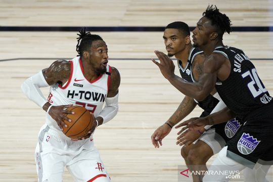NBA:  Houston Rockets kalahkan Sacramento Kings 129 - 112