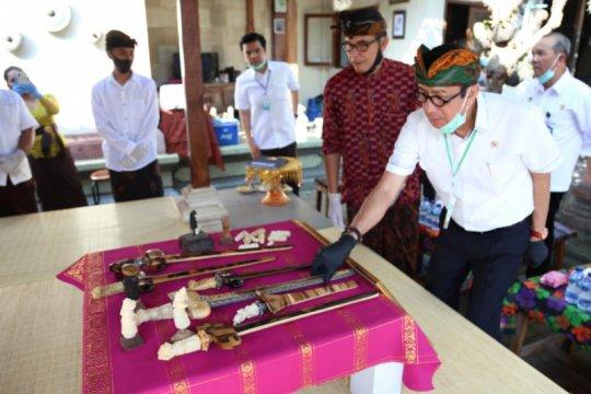 Yasonna apresiasi pelestari Prapen Wesiaji telah daftarkan hak merek