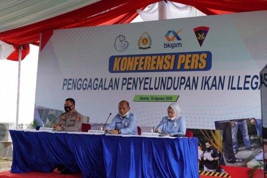 KKP-Polri gagalkan penyelundupan 54,9 ton ikan patin