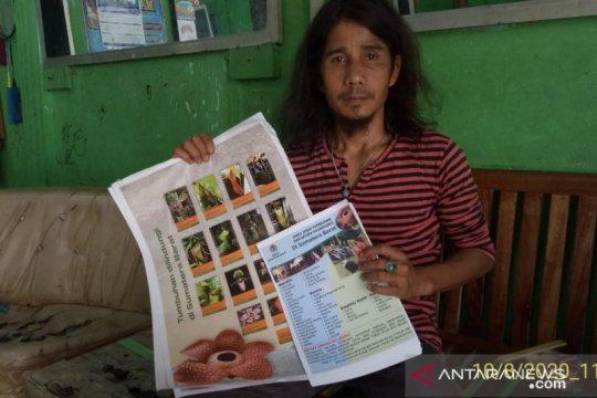 BKSDA edarkan brosur daftar satwa dilindungi cegah perdagangan ilegal