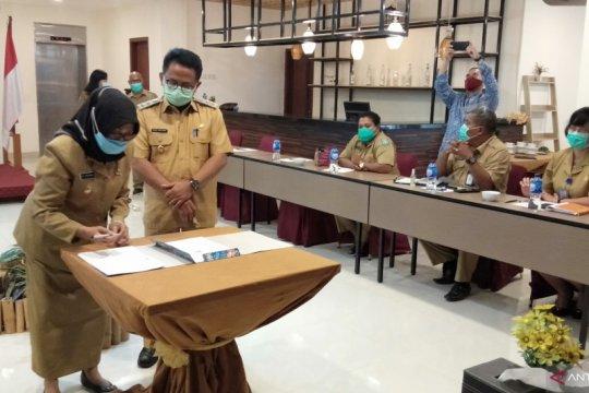 KPK saksikan Pemkab serahkan aset RSUD ke Pemkot Sorong