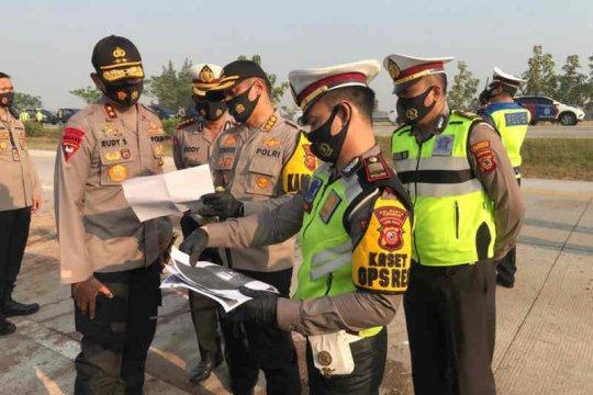 Polisi sebut kecelakaan di Tol Cipali akibat sopir Elf mengantuk