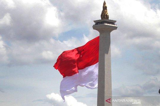 Cerah berawan warnai langit Jakarta sepanjang Senin