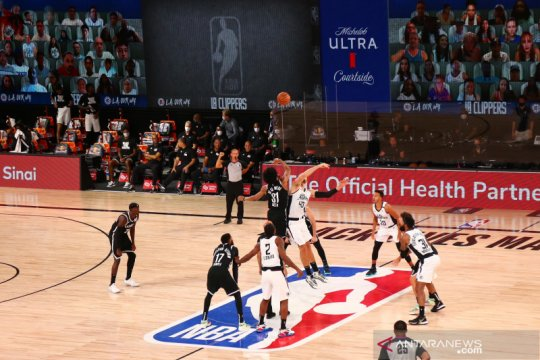 Hasil pertandingan bola basket NBA