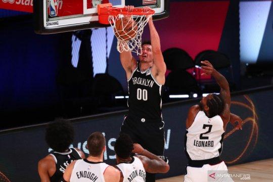 NBA:  Brooklyn Nets kalahkan LA Clippers 129 - 120