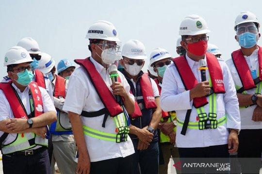 PP optimistis selesaikan pembangunan Pelabuhan Patimban sesuai target
