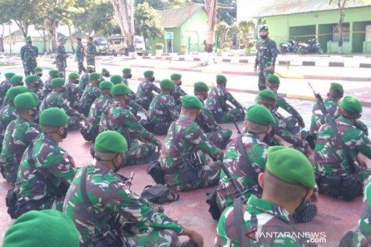 52 prajurit Yonif 711/Rks Palu ke perbatasan Indonesia-Filipina