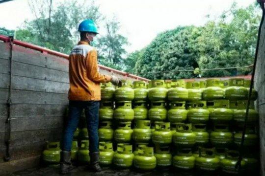 Pertamina salurkan Rp1,5 miliar ke pangkalan LPG non subsidi