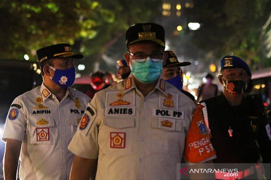 Aktivis Jakarta sebut kinerja Anies Baswedan belum maksimal