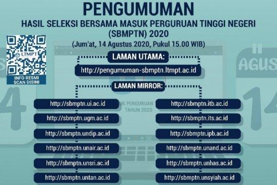 LTMPT umumkan hasil SBMPTN pada 14 Agustus