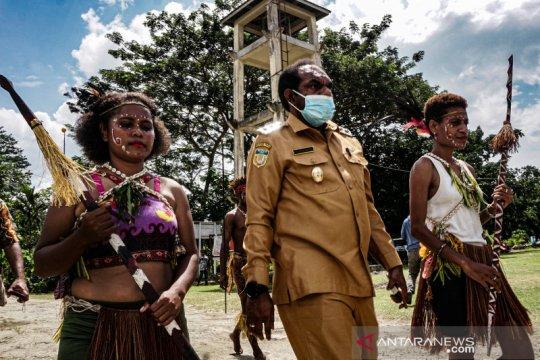 Hari internasional masyarakat pribumi di Keerom Papua
