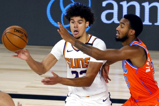 Suns tekuk Thunder untuk pertahankan rekor sempurna di gelembung NBA